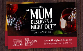 Purchase The Tyler's Kiln Gift Vouchers